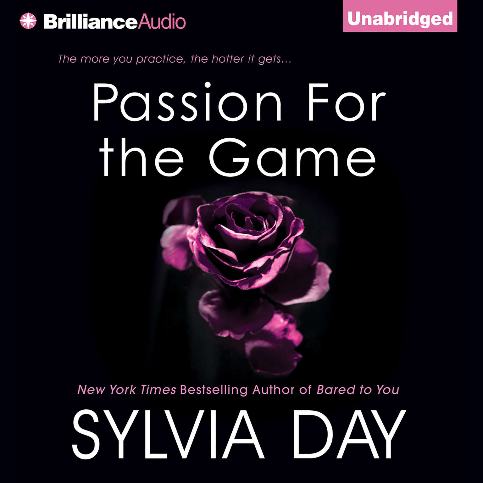Printable Passion for the Game Audiobook Cover Art