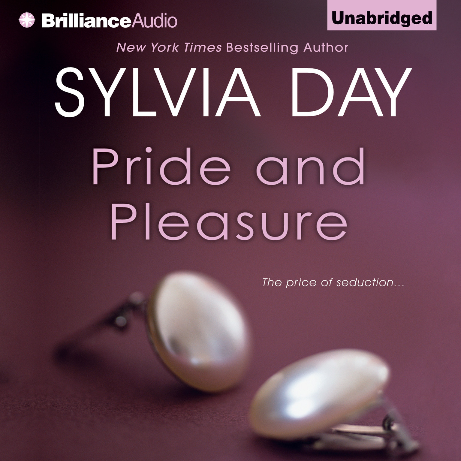 Printable Pride and Pleasure Audiobook Cover Art