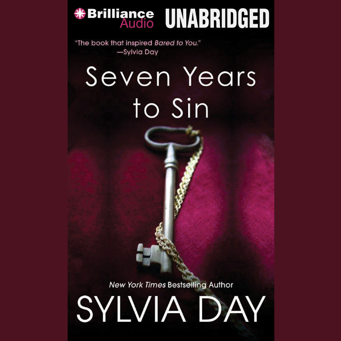Printable Seven Years to Sin Audiobook Cover Art