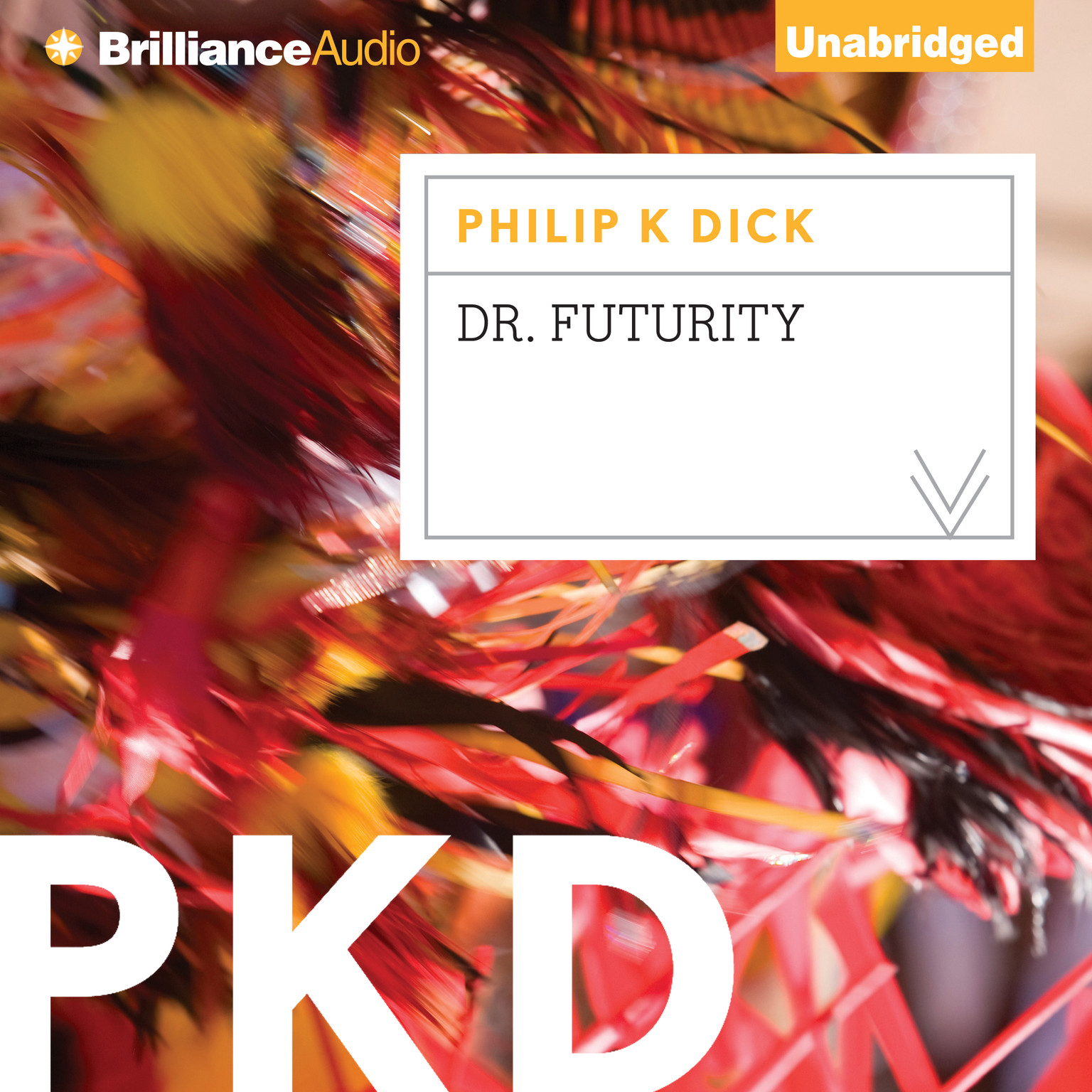 Printable Dr. Futurity Audiobook Cover Art