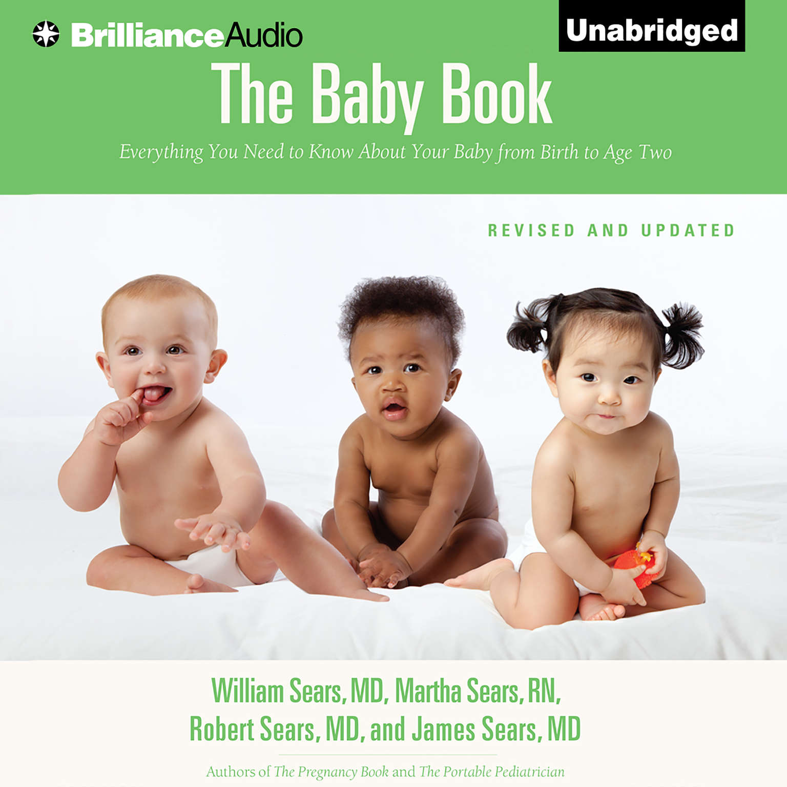 Printable The Baby Book: Everything You Need to Know About Your Baby From Birth to Age Two Audiobook Cover Art