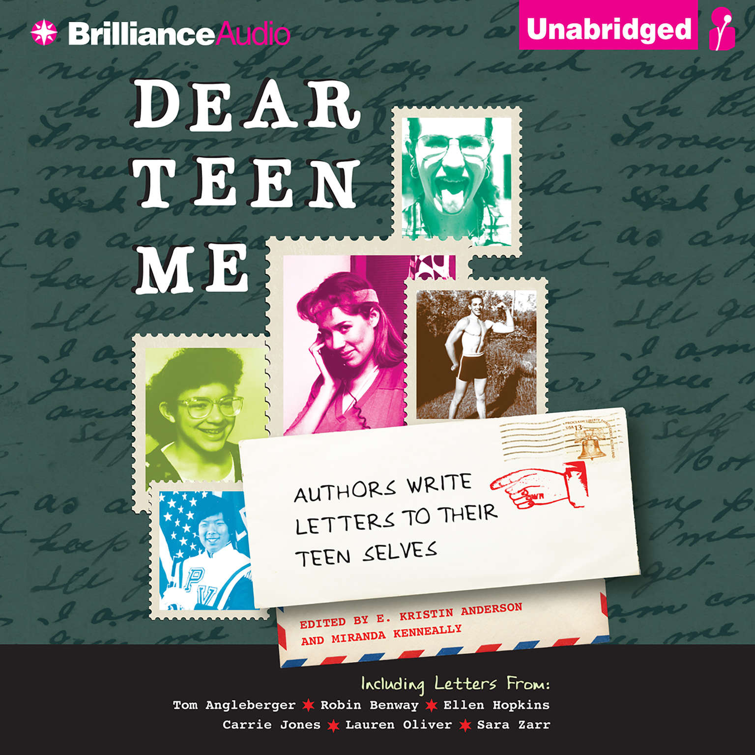 Printable Dear Teen Me: Authors Write Letters to Their Teen Selves Audiobook Cover Art