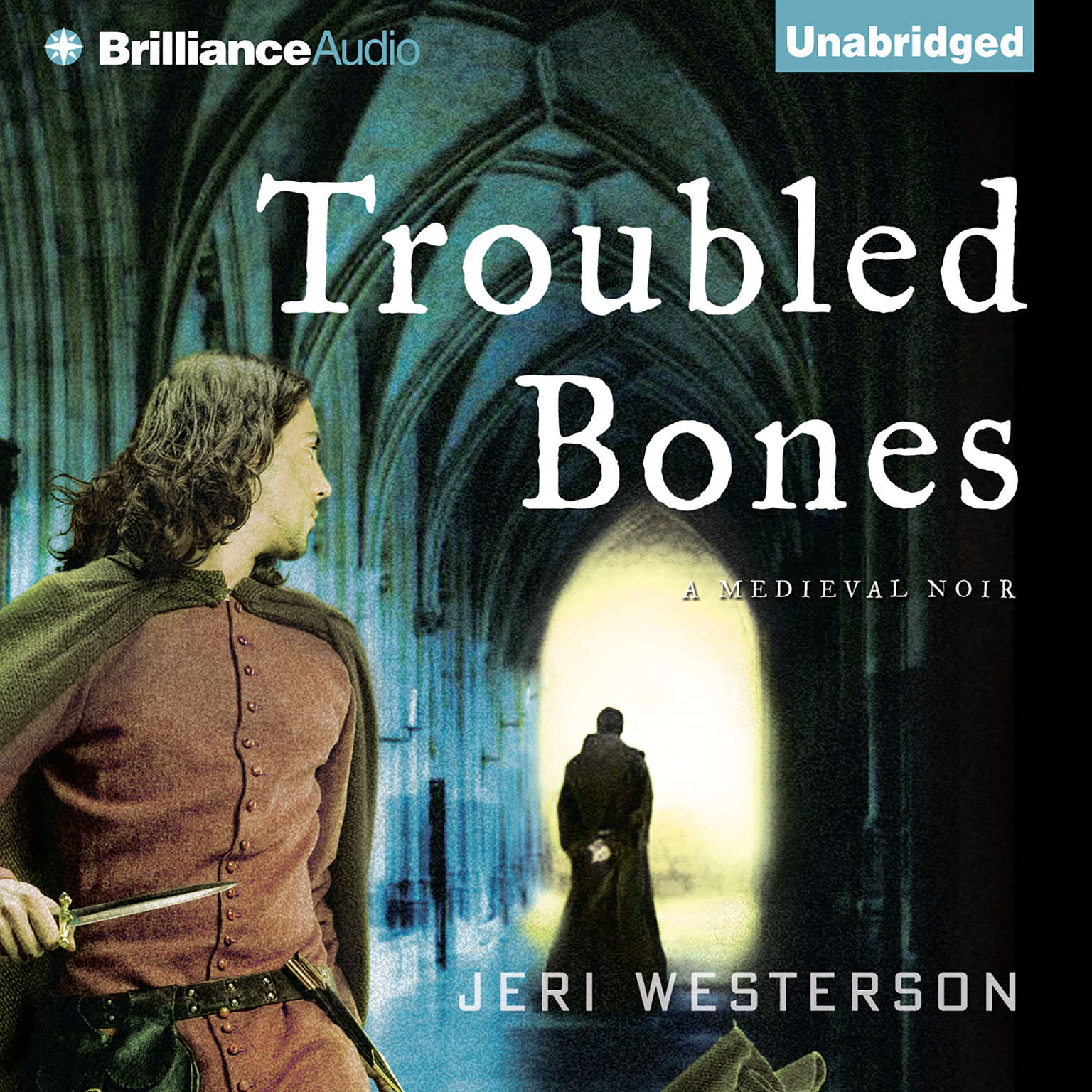 Printable Troubled Bones Audiobook Cover Art