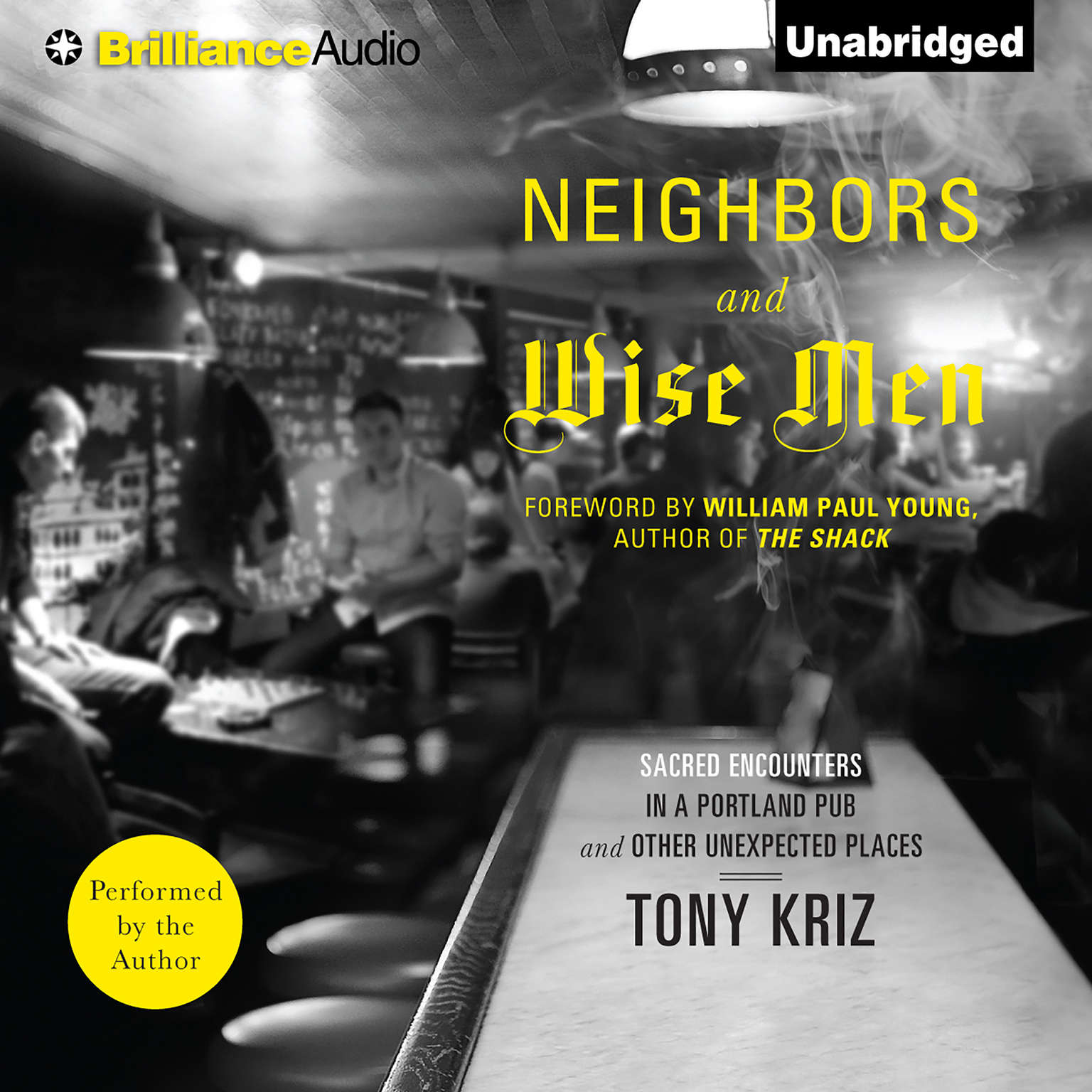 Printable Neighbors and Wise Men: Sacred Encounters in a Portland Pub and Other Unexpected Places Audiobook Cover Art