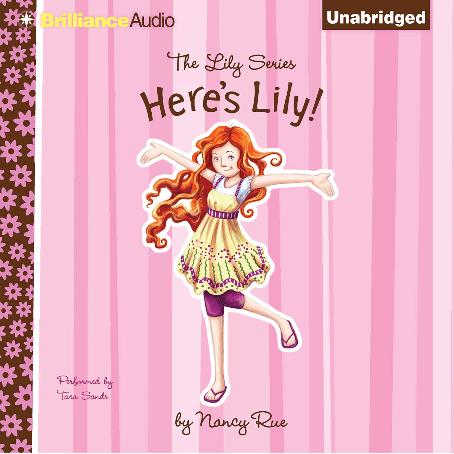 Printable Here's Lily Audiobook Cover Art