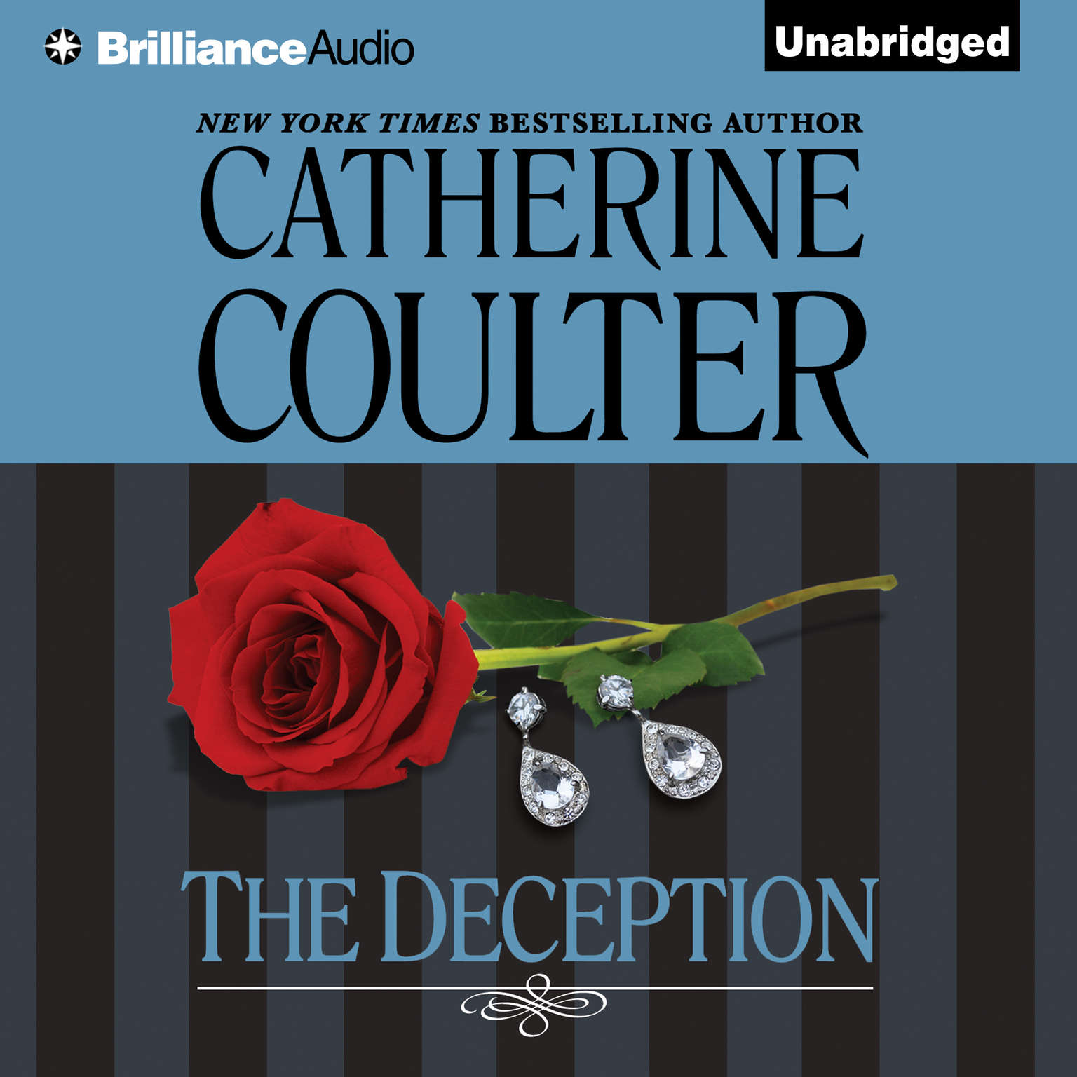 Printable The Deception Audiobook Cover Art