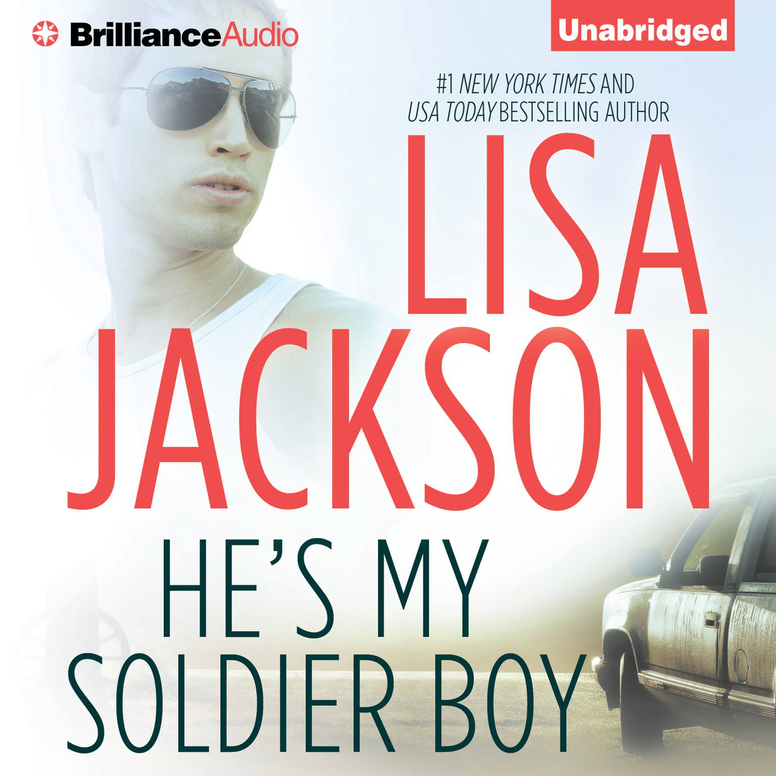 Printable He's My Soldier Boy Audiobook Cover Art
