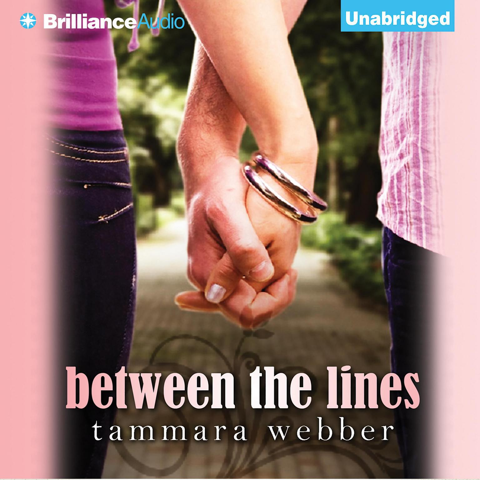 Printable Between the Lines Audiobook Cover Art