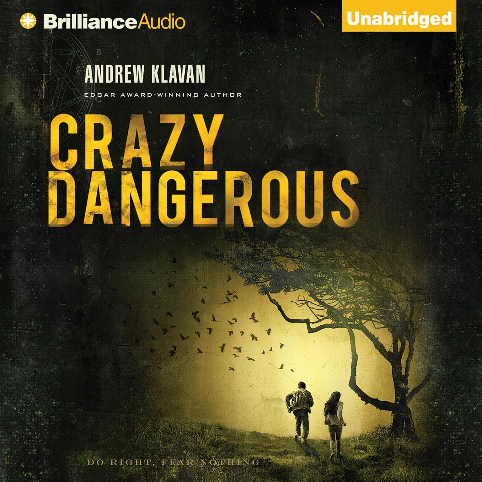 Printable Crazy Dangerous Audiobook Cover Art