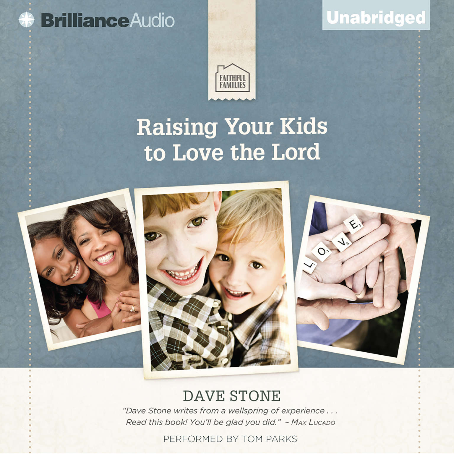 Printable Raising Your Kids to Love the Lord Audiobook Cover Art