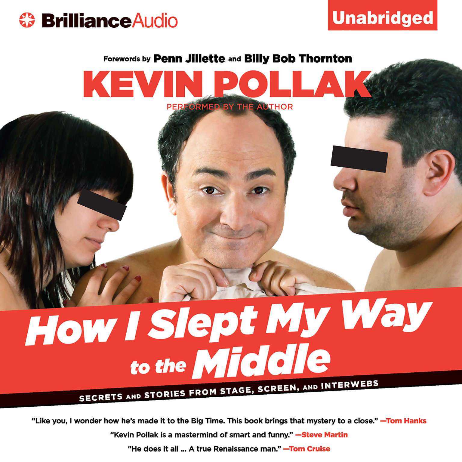 Printable How I Slept My Way to the Middle: Secrets and Stories from Stage, Screen, and Interwebs Audiobook Cover Art
