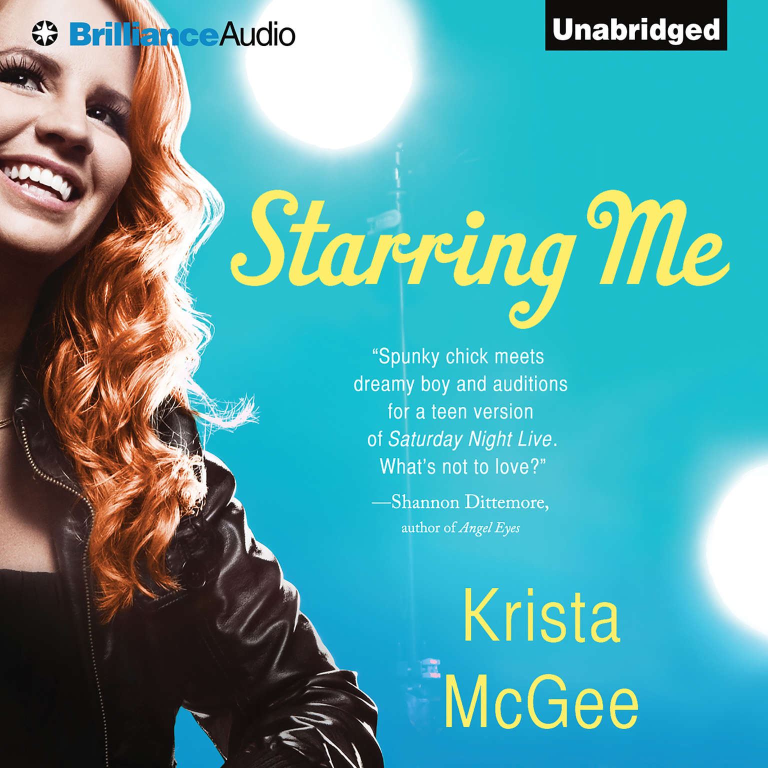 Printable Starring Me Audiobook Cover Art