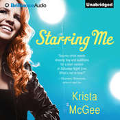 Starring Me Audiobook, by Krista McGee