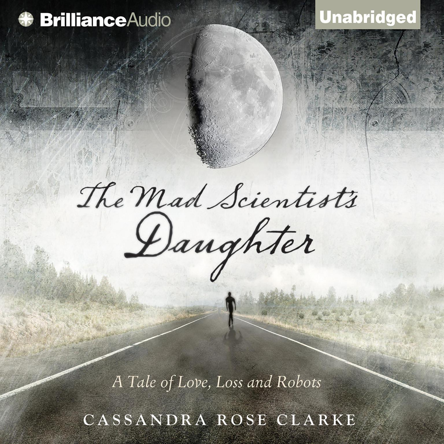 Printable The Mad Scientist's Daughter Audiobook Cover Art
