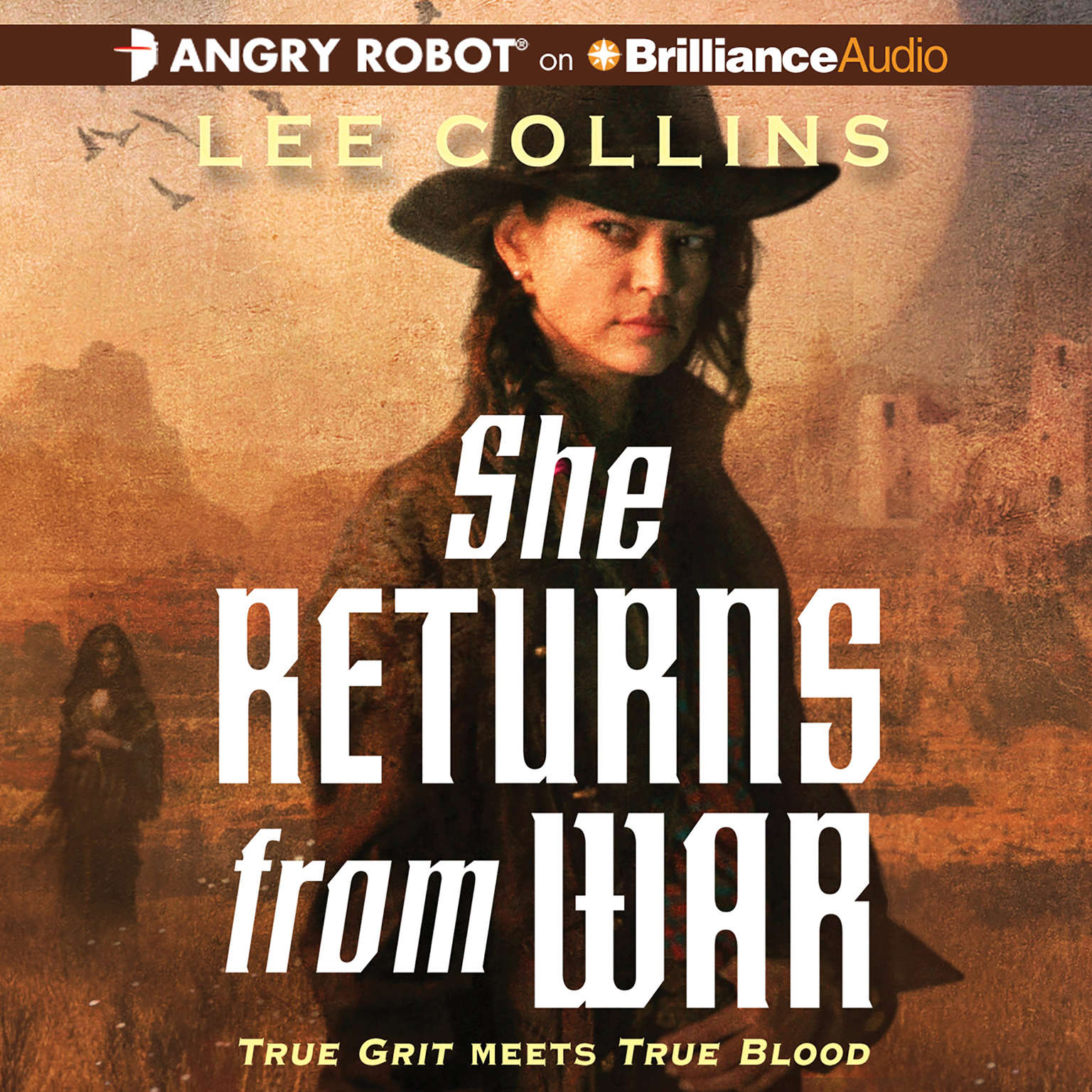 Printable She Returns From War Audiobook Cover Art