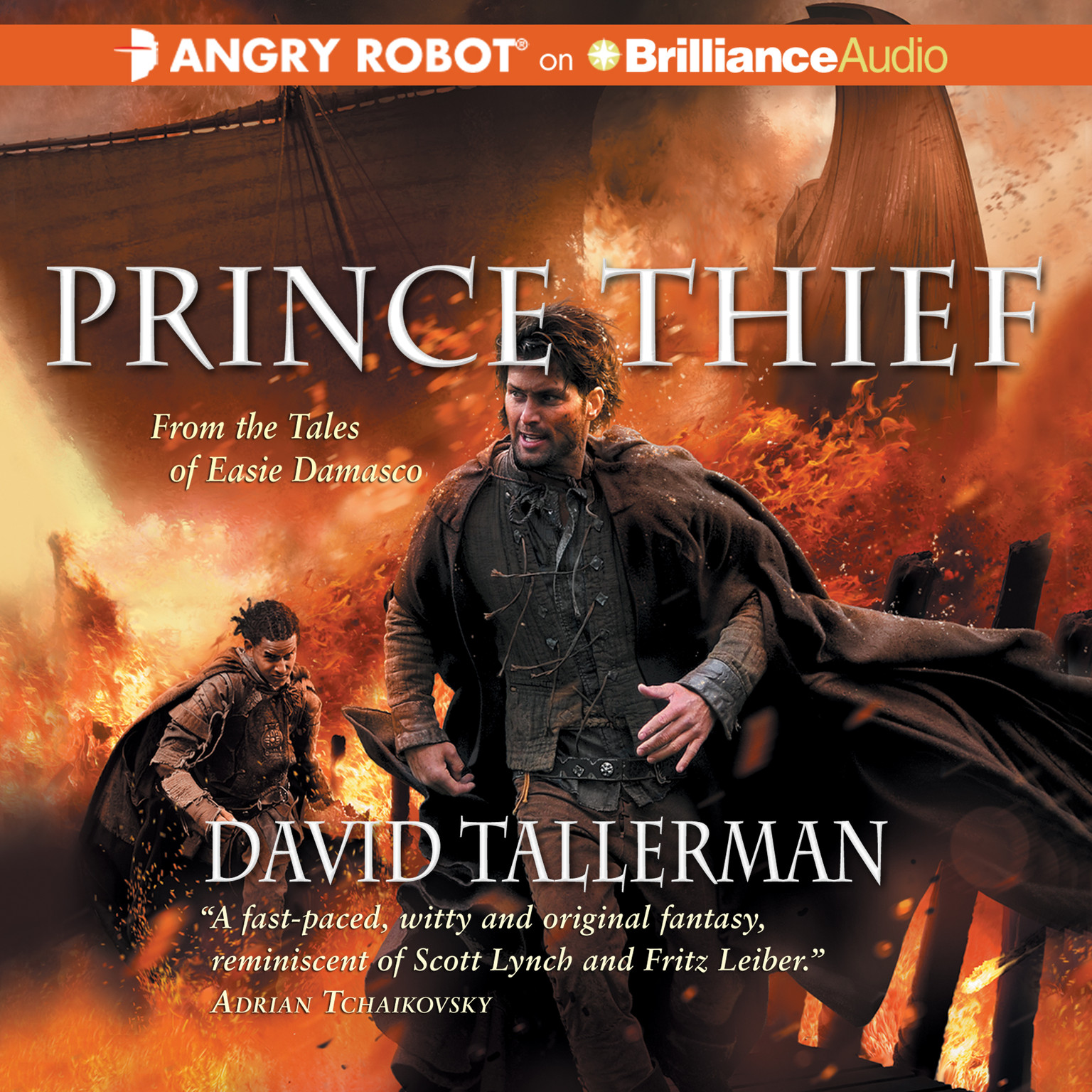 Printable Prince Thief Audiobook Cover Art