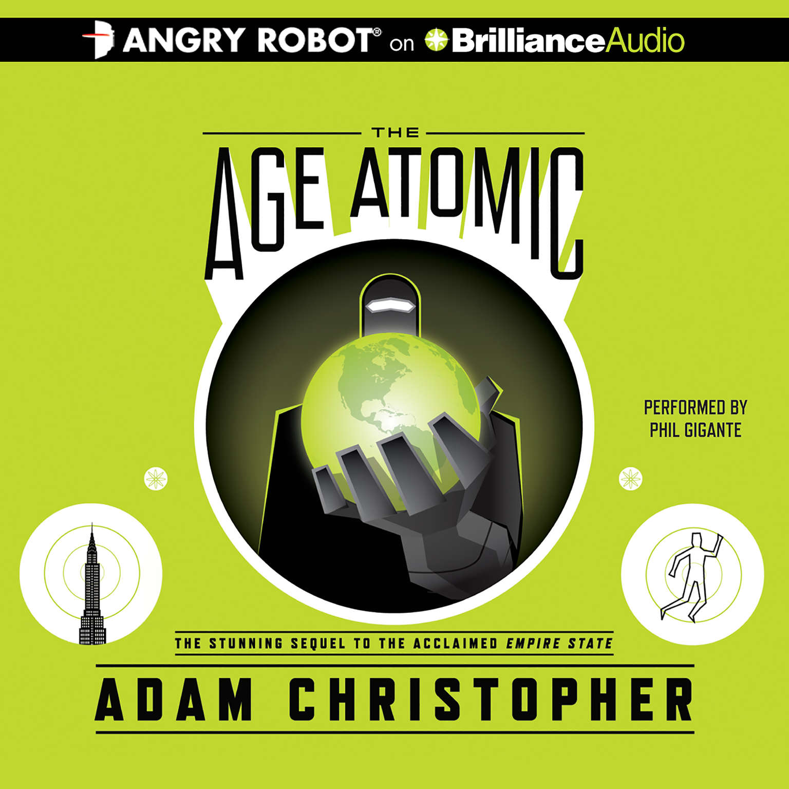 Printable The Age Atomic Audiobook Cover Art