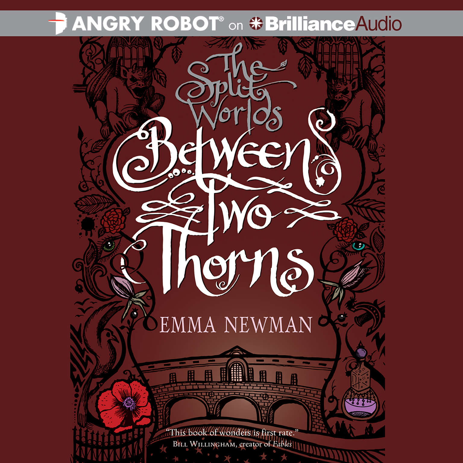 Printable Between Two Thorns Audiobook Cover Art