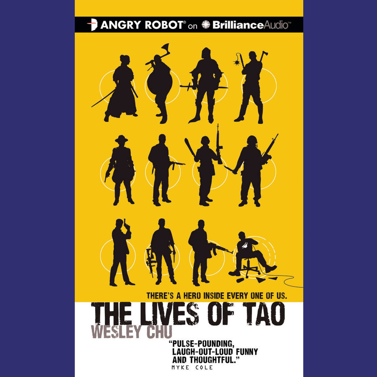 Printable The Lives of Tao Audiobook Cover Art