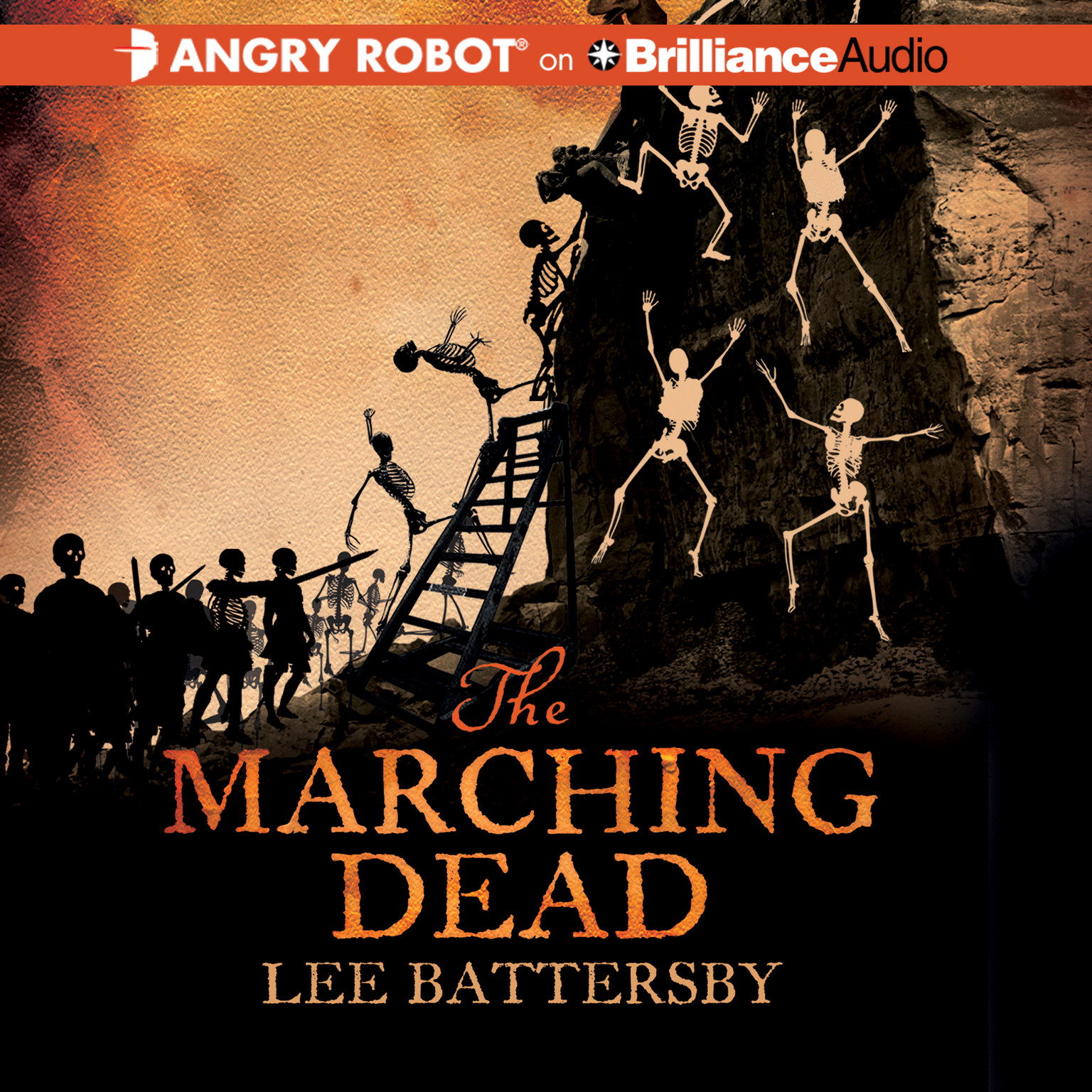 Printable The Marching Dead Audiobook Cover Art