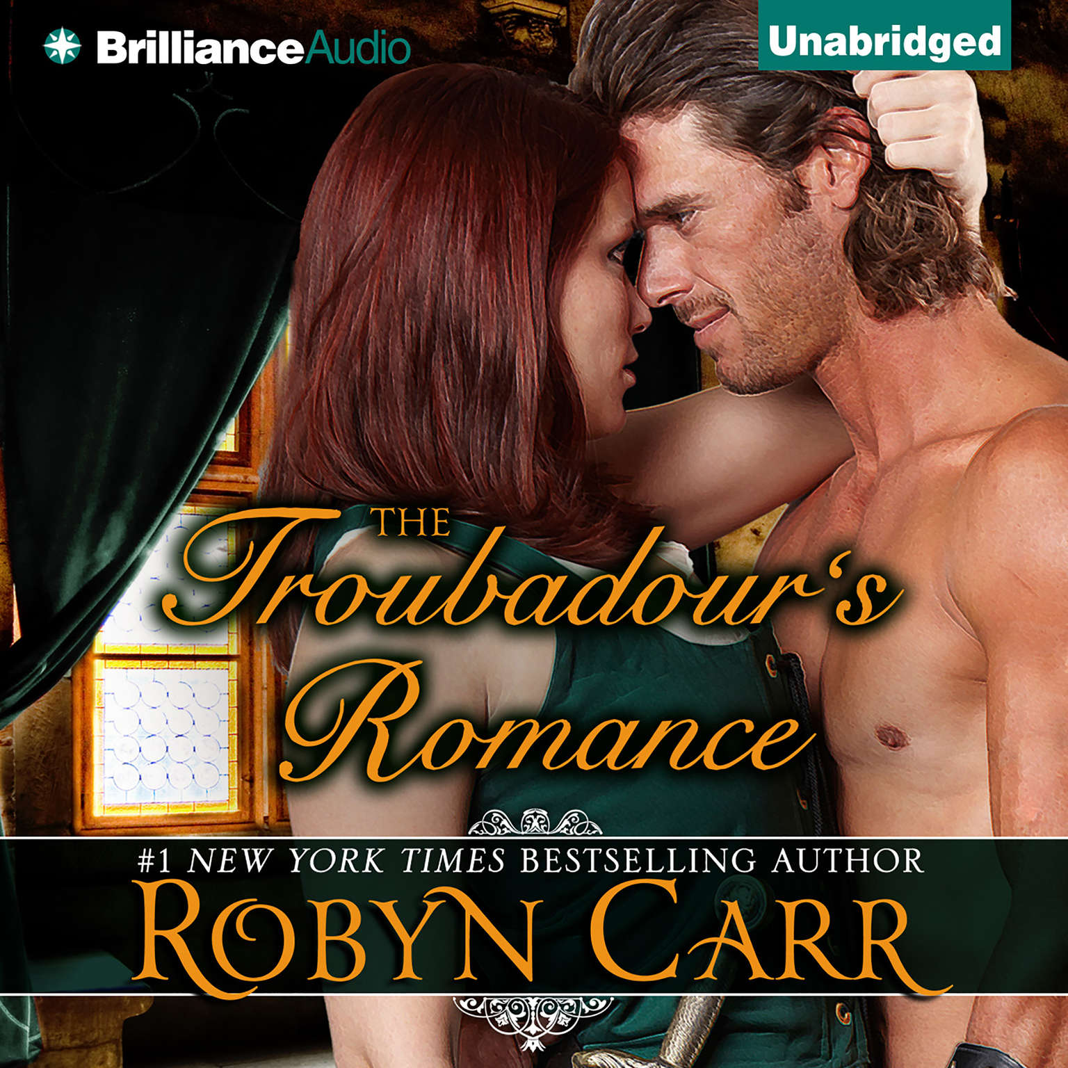 Printable The Troubadour's Romance Audiobook Cover Art