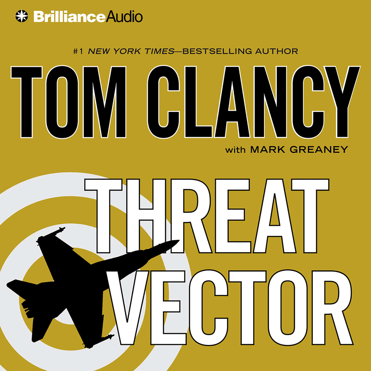 Printable Threat Vector Audiobook Cover Art