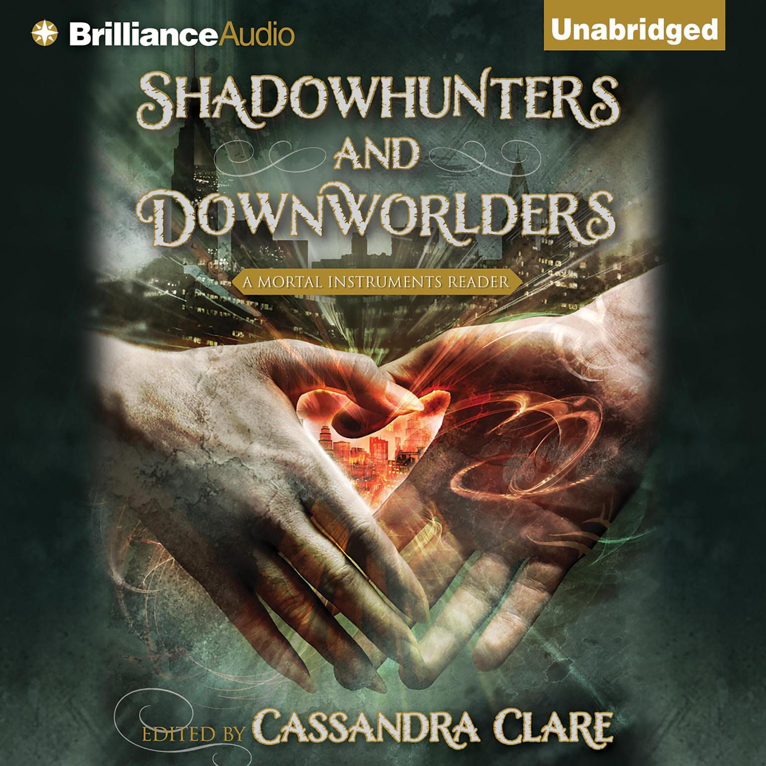Printable Shadowhunters and Downworlders: A Mortal Instruments Reader Audiobook Cover Art