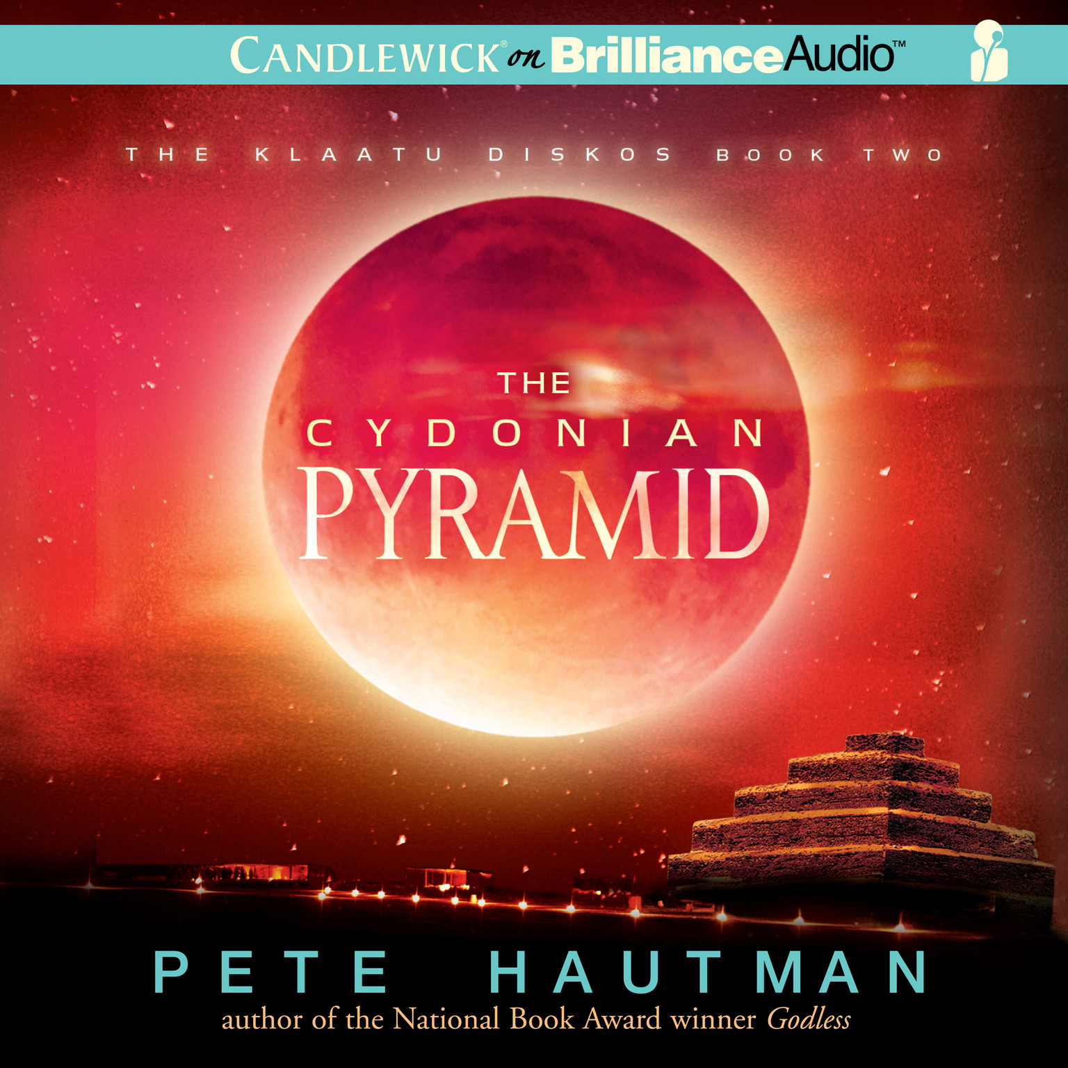 Printable The Cydonian Pyramid Audiobook Cover Art