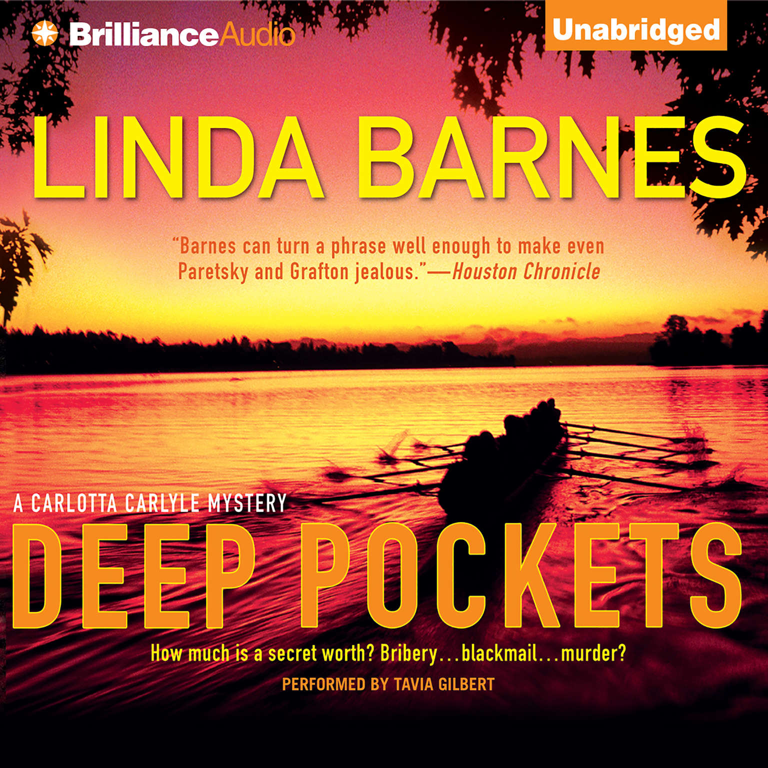 Printable Deep Pockets Audiobook Cover Art