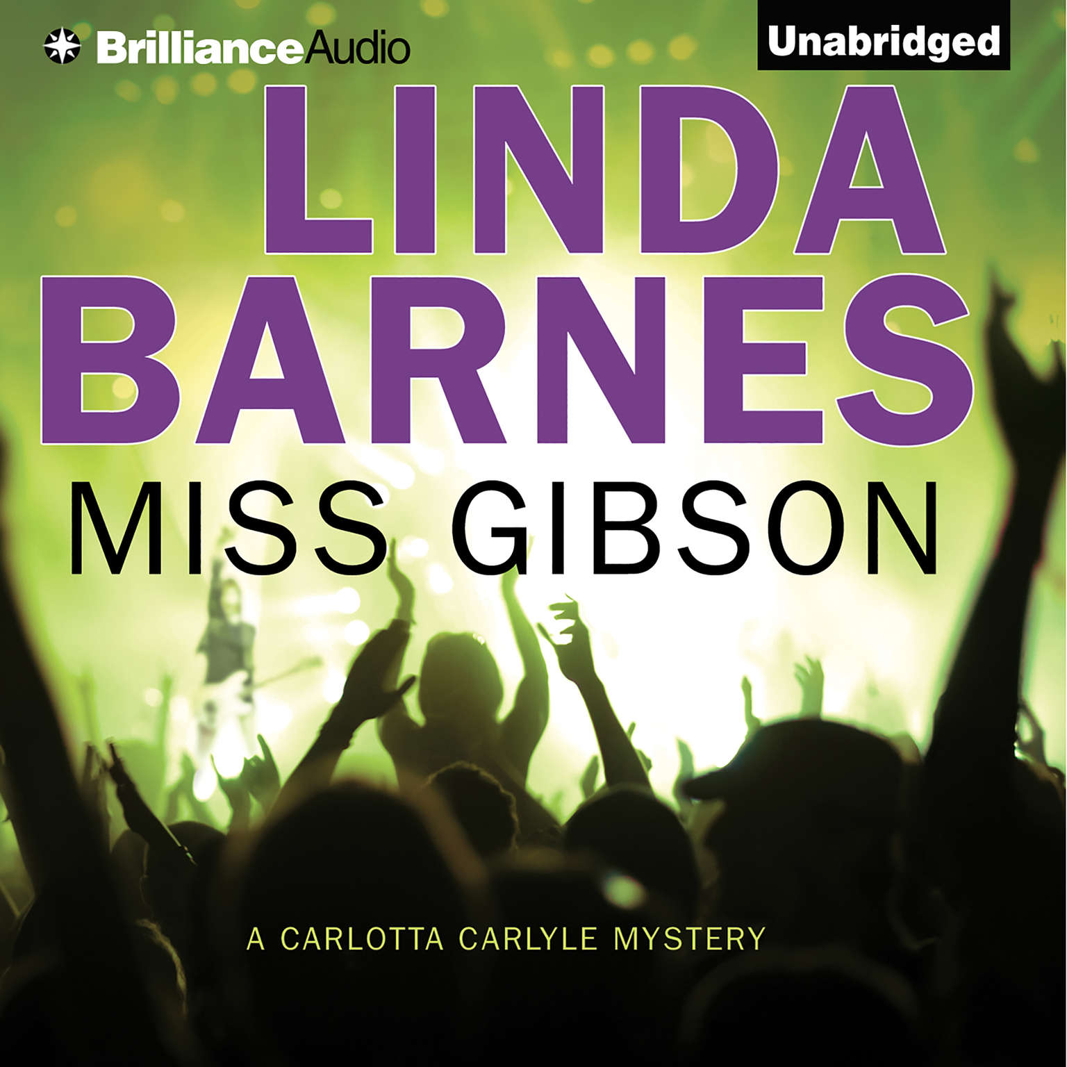 Printable Miss Gibson Audiobook Cover Art