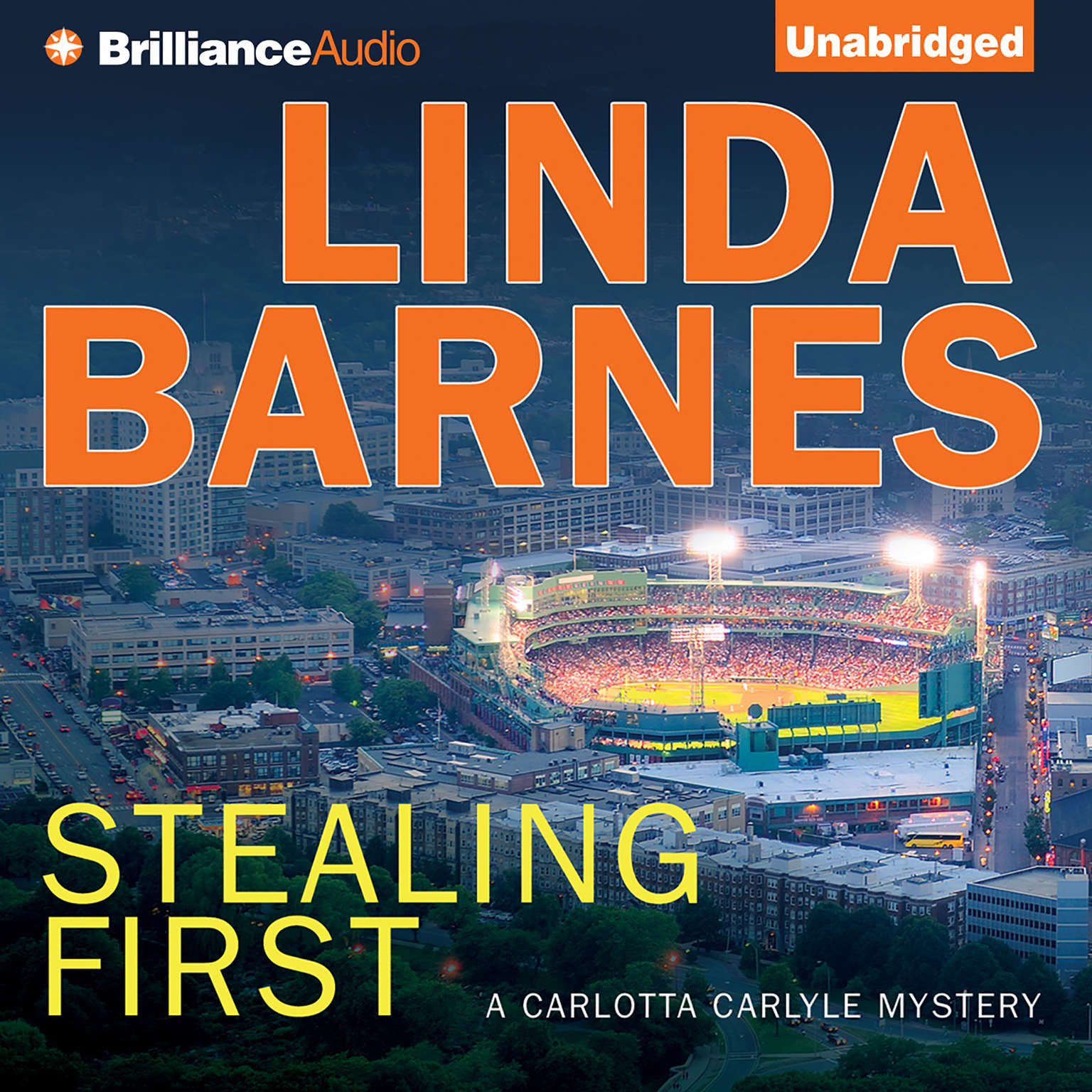 Printable Stealing First Audiobook Cover Art