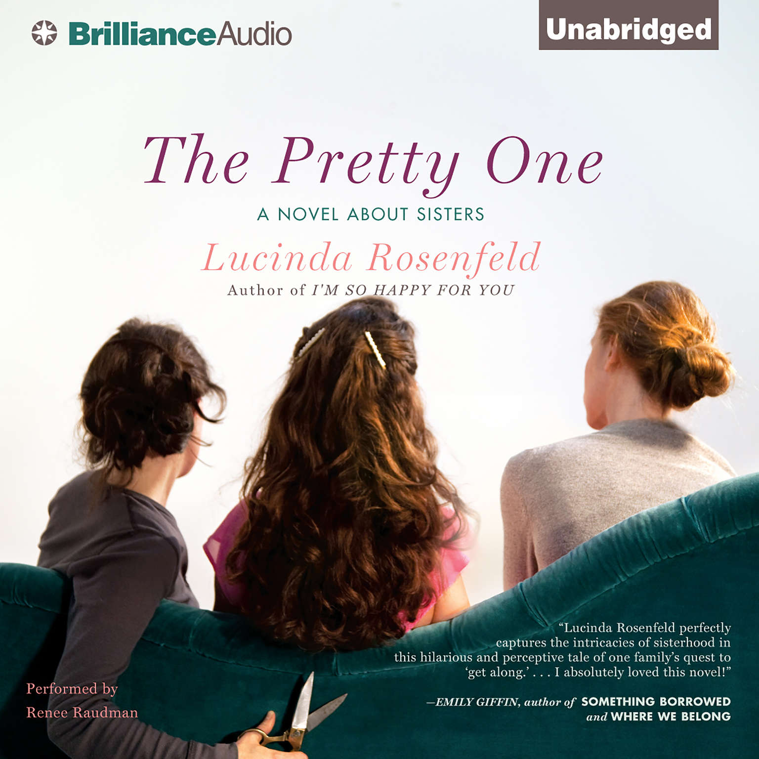 Printable The Pretty One: A Novel about Sisters Audiobook Cover Art
