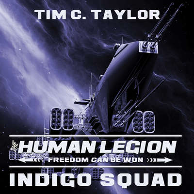 Indigo Squad Audiobook, by Tim C. Taylor
