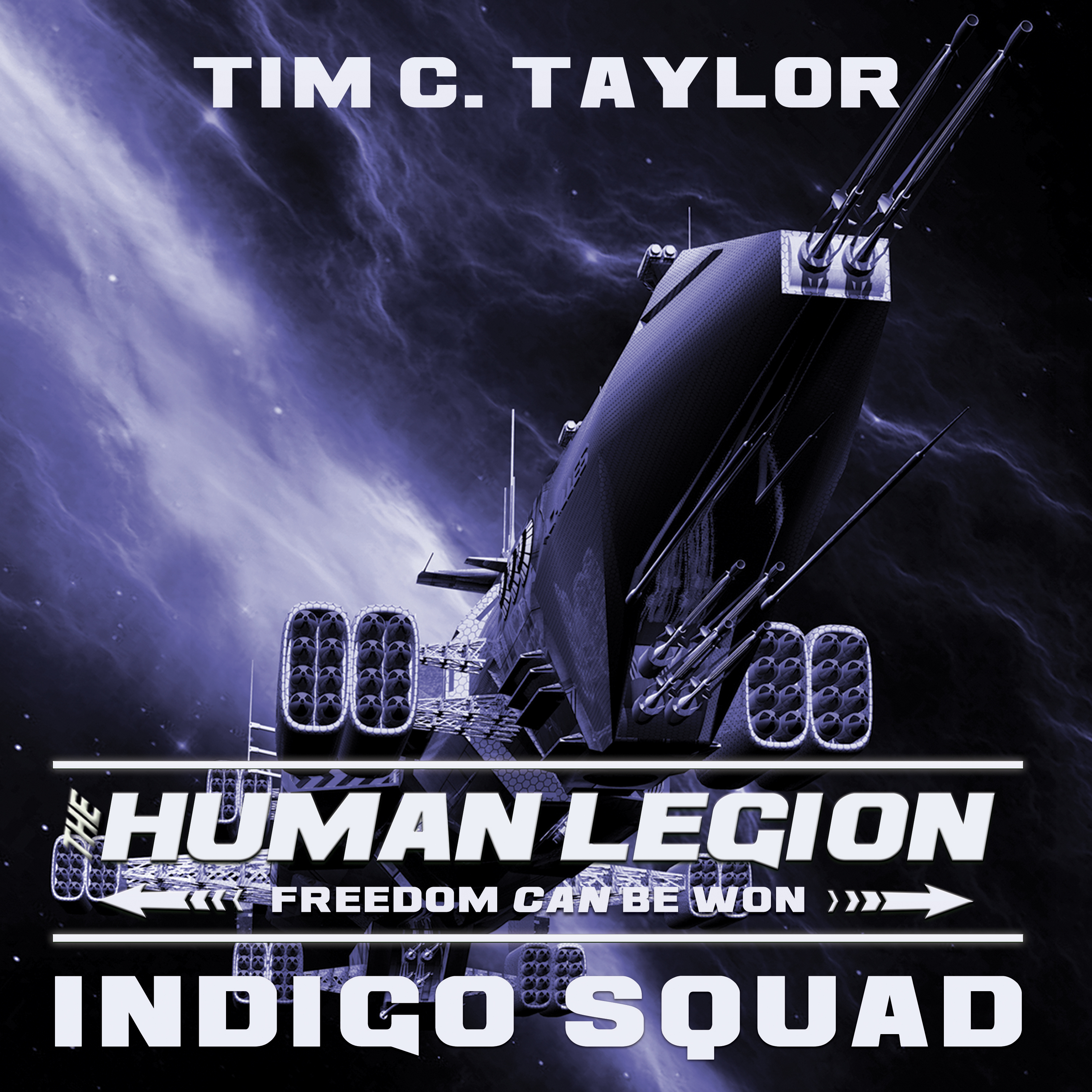 Printable Indigo Squad Audiobook Cover Art