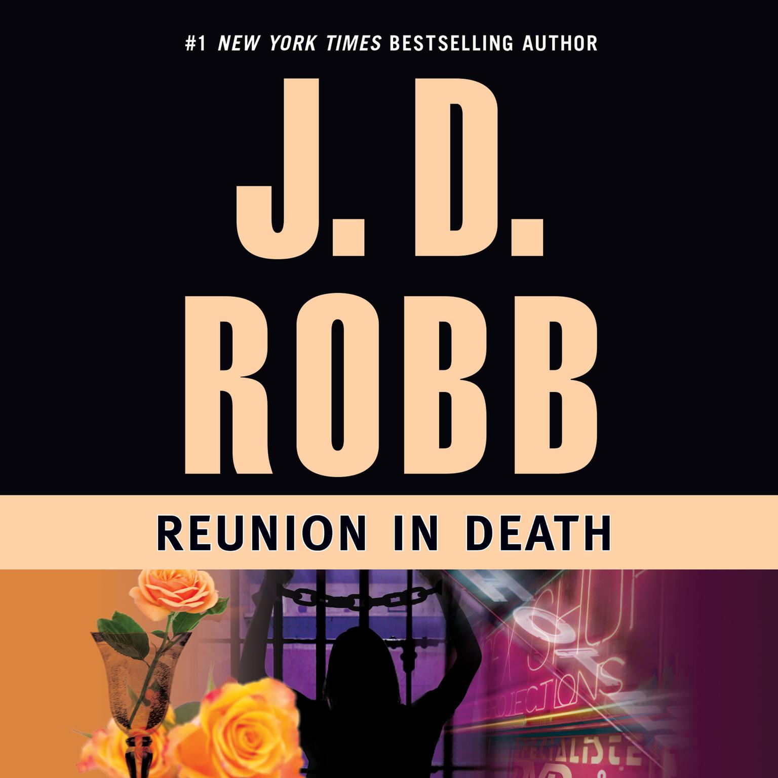 Printable Reunion in Death Audiobook Cover Art