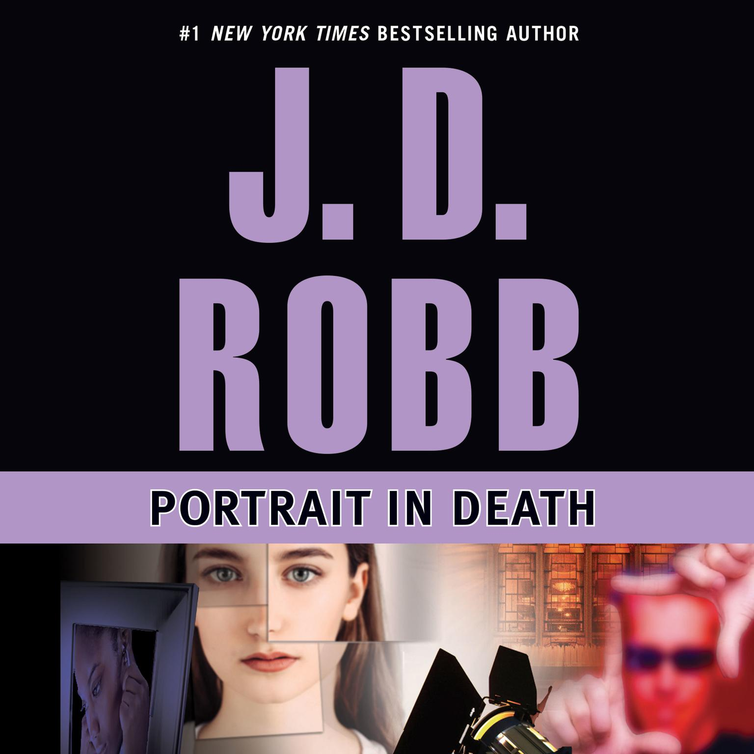 Printable Portrait in Death Audiobook Cover Art