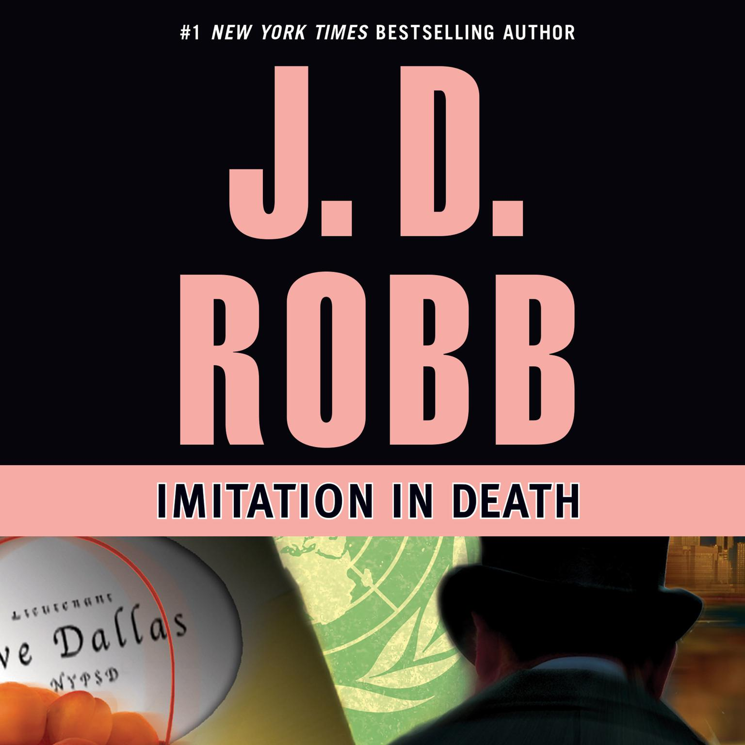 Printable Imitation in Death Audiobook Cover Art