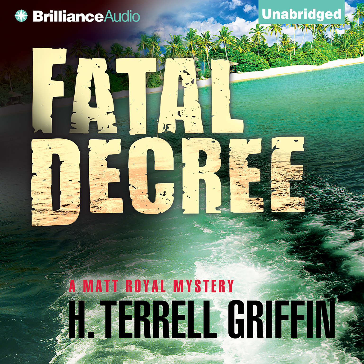 Printable Fatal Decree Audiobook Cover Art
