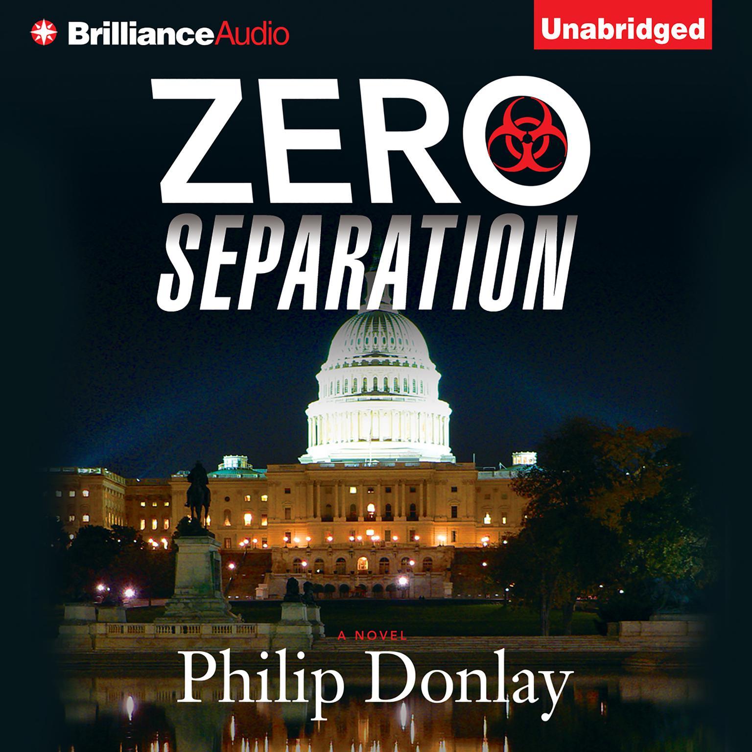 Printable Zero Separation: A Novel Audiobook Cover Art