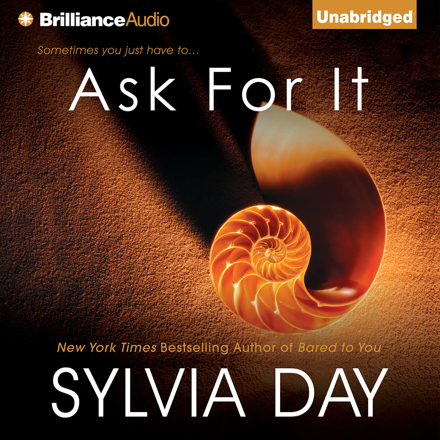 Printable Ask For It Audiobook Cover Art