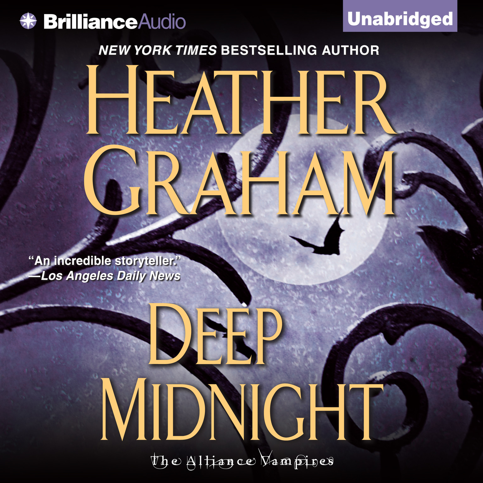 Printable Deep Midnight Audiobook Cover Art