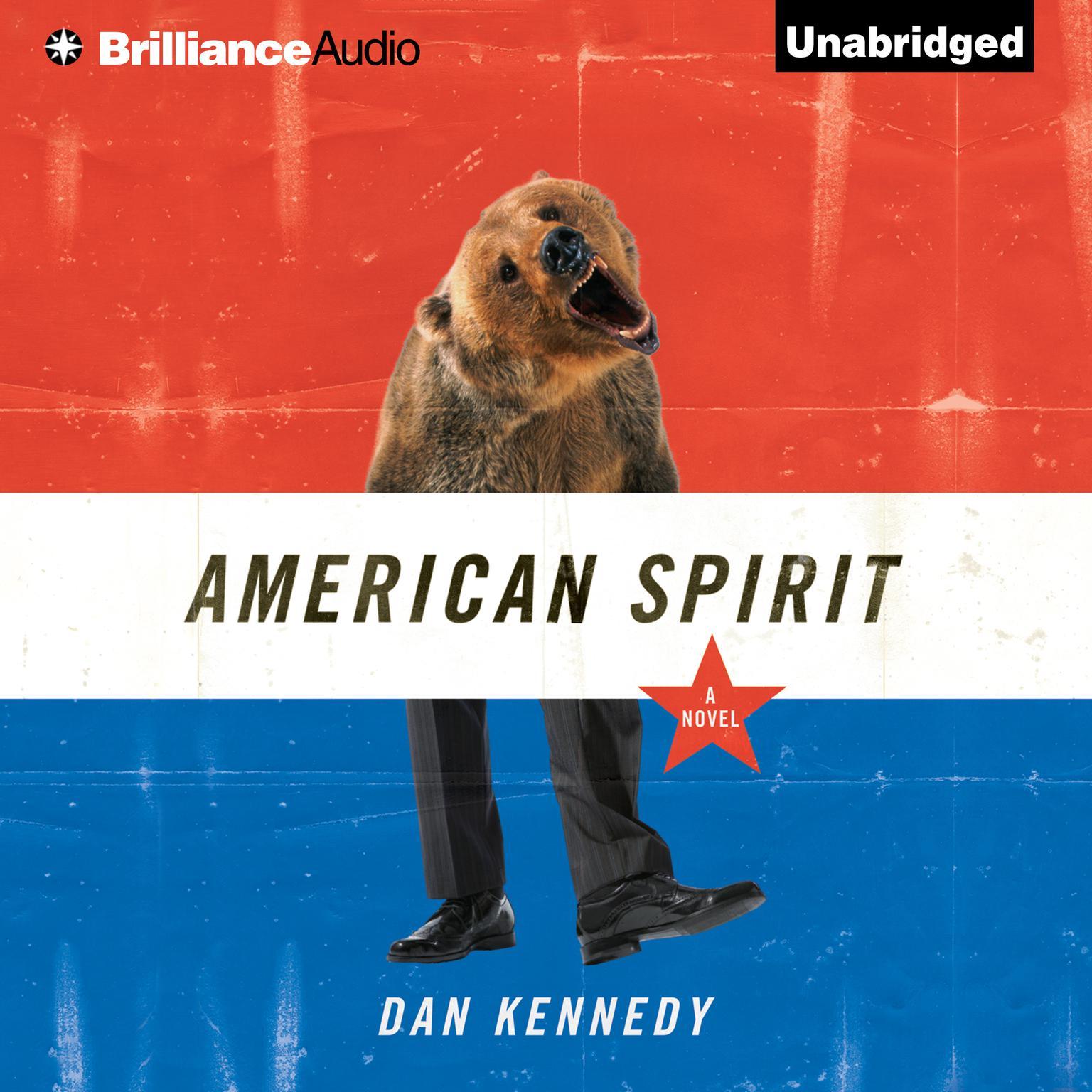 Printable American Spirit Audiobook Cover Art