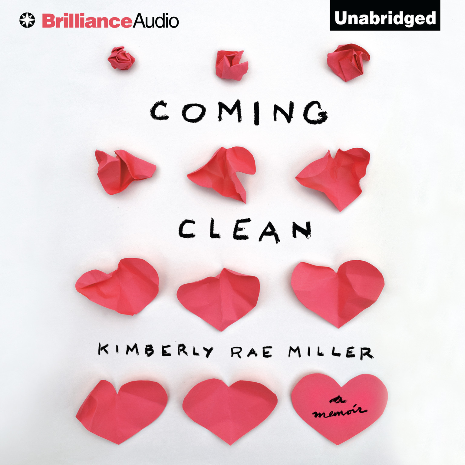 Printable Coming Clean: A Memoir Audiobook Cover Art
