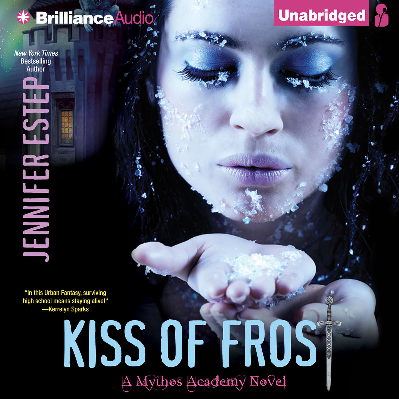 Printable Kiss of Frost Audiobook Cover Art