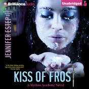 Kiss of Frost Audiobook, by Jennifer Estep