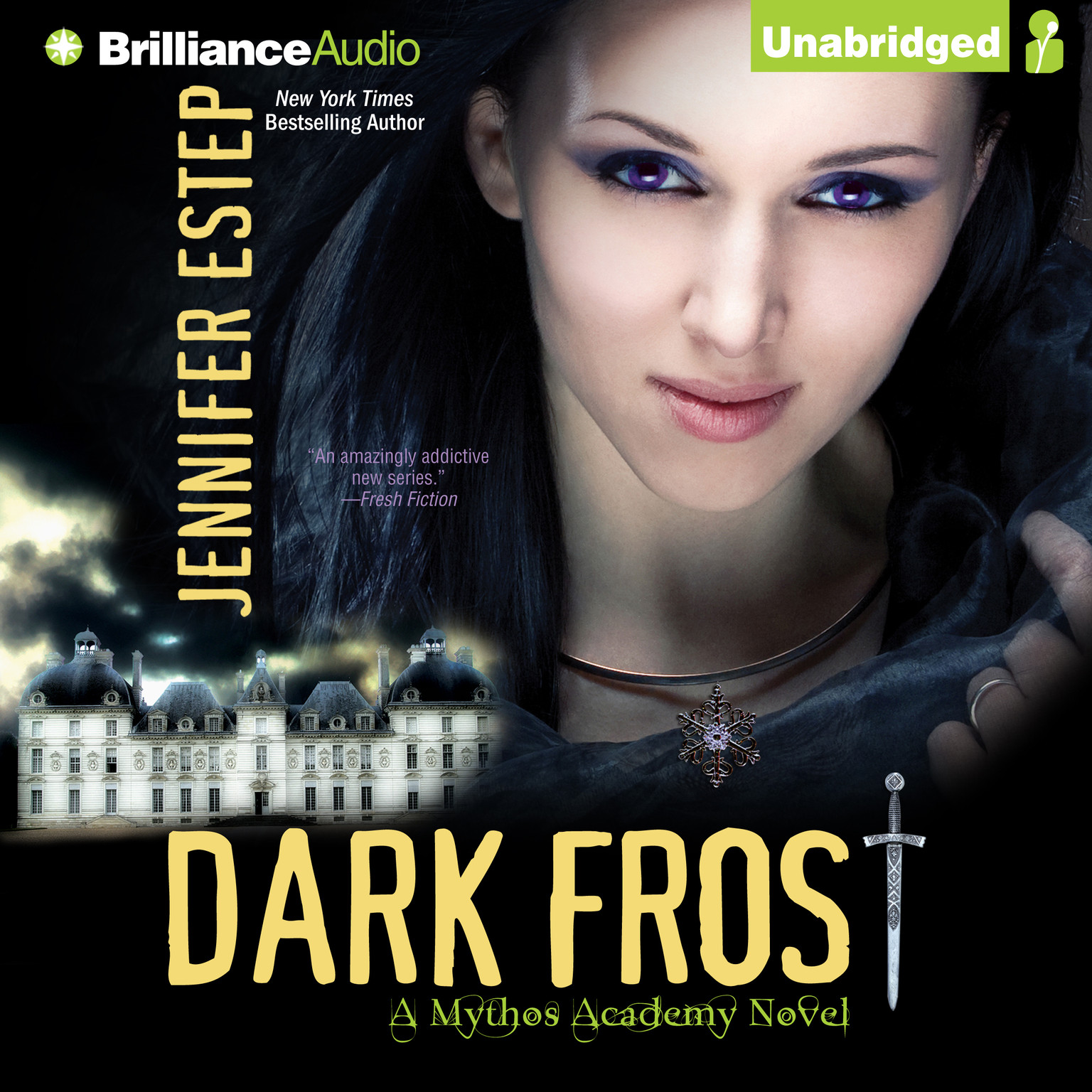 Printable Dark Frost Audiobook Cover Art