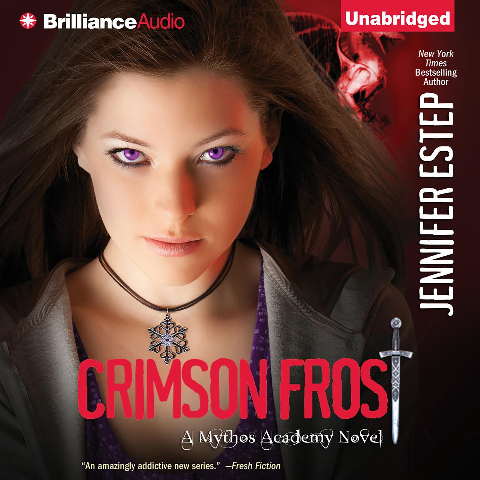 Printable Crimson Frost Audiobook Cover Art