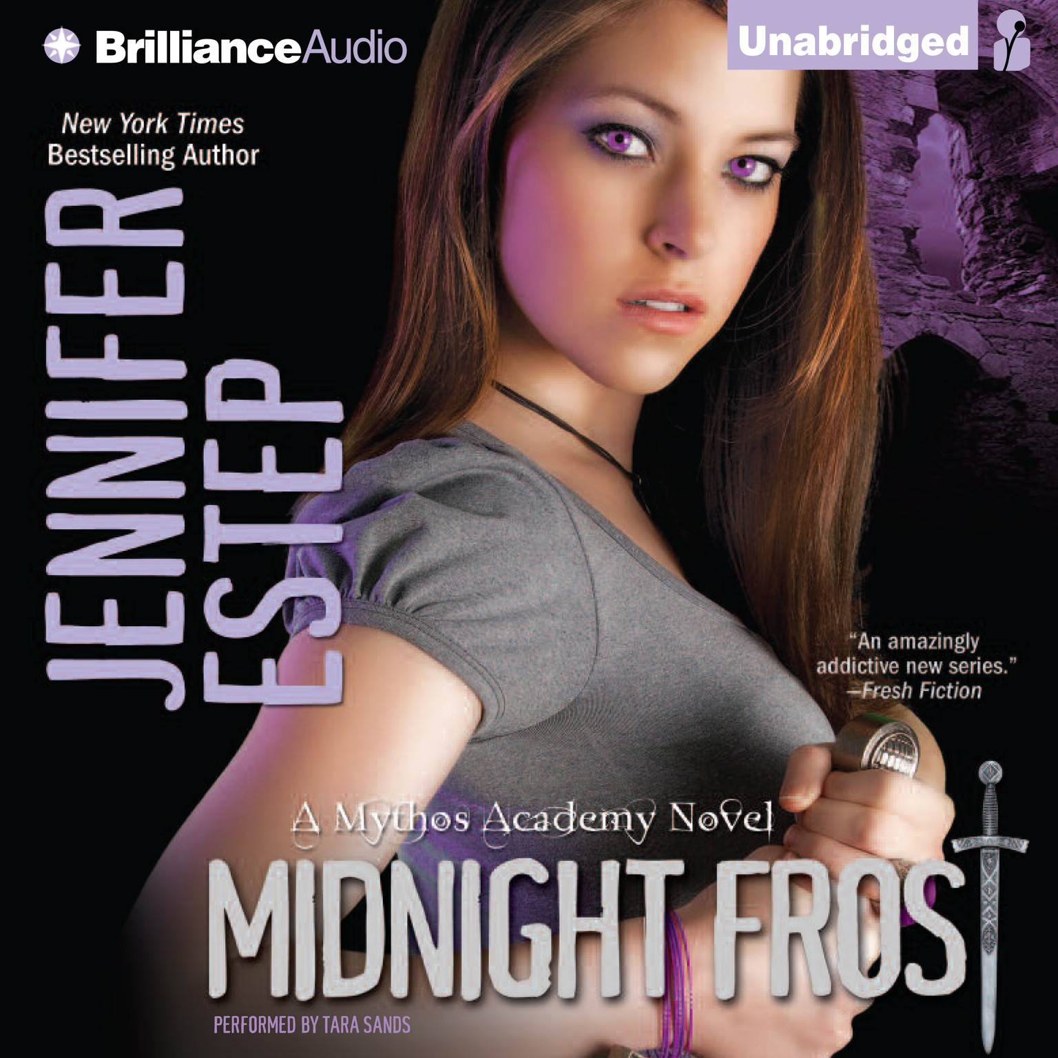 Printable Midnight Frost Audiobook Cover Art