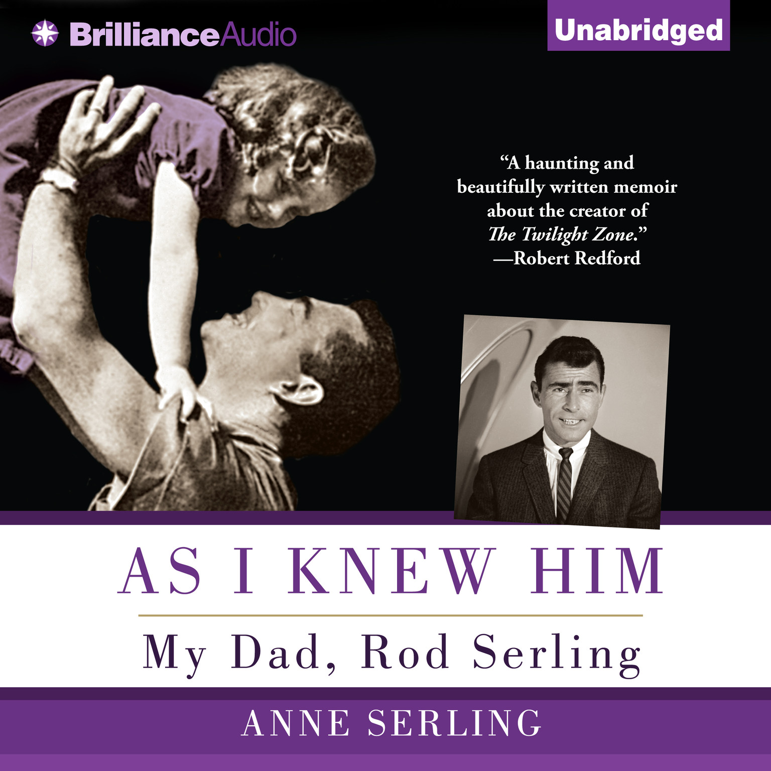 Printable As I Knew Him: My Dad, Rod Serling Audiobook Cover Art