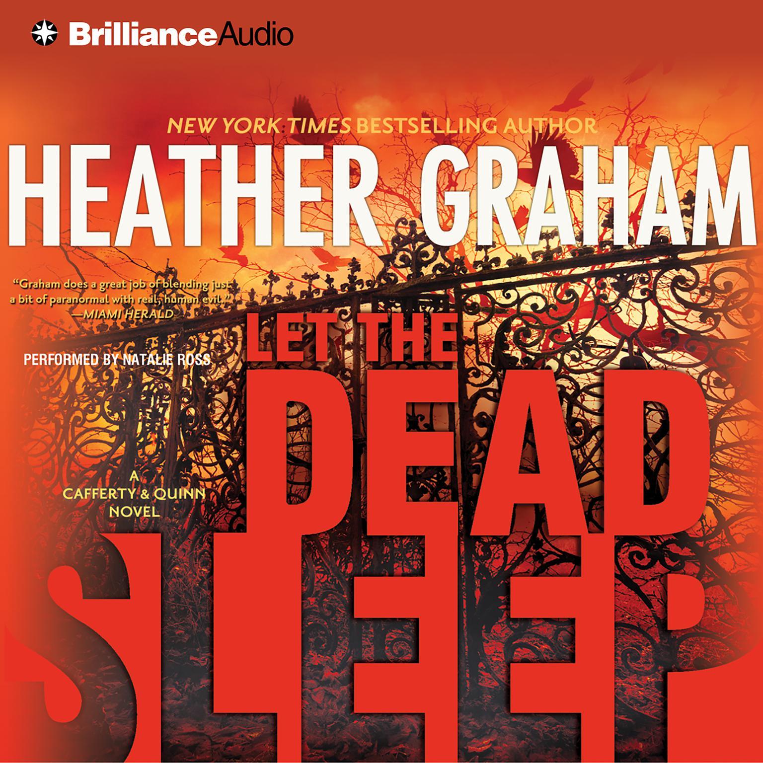 Printable Let the Dead Sleep Audiobook Cover Art